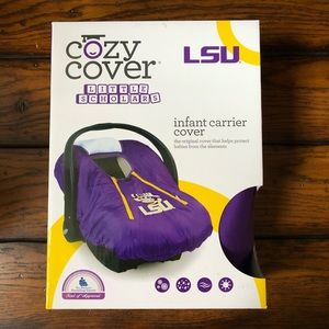 Cozy Cover Baby Carrier Cover LSU Tigers NEW!